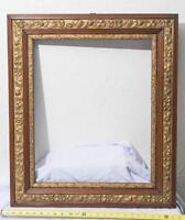 Vintage Gilded Wood Carved Picture Art Frame mv