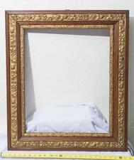 Vintage Gilded Wood Carved Picture Art Frame mv