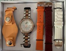- Nib - 4 Changeable Wristbands Ds Daniela Swaebe Timepiece - Wristwatch Set