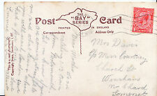 Genealogy Postcard - Family History - Davis - Winsham - Somerset   U3236