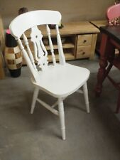 X1 PAINTED FIDDLE-BACK CHAIR CHOICE OF COLOURS FARROW & BALL DIMPSE