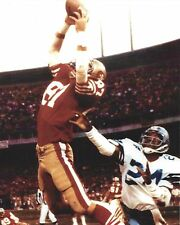 DWIGHT CLARK 8X10 PHOTO SAN FRANCISCO FORTY NINERS 49ers PICTURE FOOTBALL CATCH