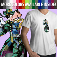 Unisex Mens Women Tee T-Shirt Jojo's Bizarre Adventure Goofy Jotaro Kujo Disney