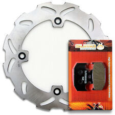 Suzuki Rear High Quality Brake Rotor +Pads TS125R [1990-1996] TS200R [1989-1994]