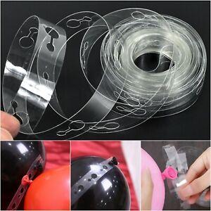 Balloon Arch Garland Kit DIY 5M 10M 15M Birthday Wedding Baby Shower Party UK