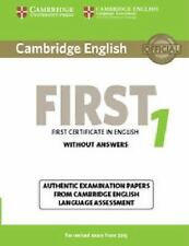 FCE Practice Tests: CAMBRIDGE ENGLISH FIRST 1 FOR REVISED EXAM FROM 2015...