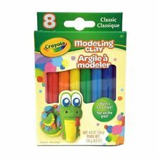 Crayola Classic Modeling Clay 8 Pack Basic Colors
