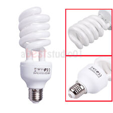 45W 5500K Photography Studio Continuous Lighting Daylight Bulb Lamp Energy Save