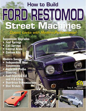 How to Build Ford Restomod Street Machines Book ~Hi-Perf Mods~ NEW!