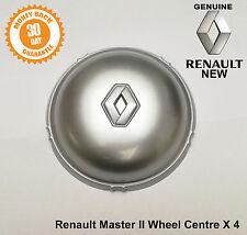 Renault Master Cache moyeu Centre Capuchon Roue Alliage Couvre 7700309506 x4 Authentique Set