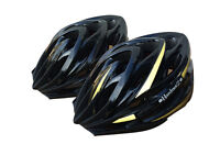 HardnutZ Bike Helmet Road Mountain Bicycle Cycling Hi Vis MTB Black 54-61cm New