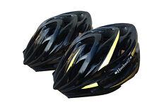 CASCO HardnutZ BICI ROAD Mountain Bicicletta Ciclismo Hi MTB Nero 54-61 cm Vis NUOVO