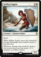 SELFLESS SQUIRE Commander 2016 MTG White Creature — Human Soldier Rare
