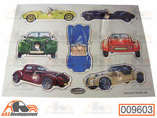 "PUZZLE EN BOIS (WOOD TOY) sur theme Citroen 2CV ""BURTON"" kit car  -9603-"