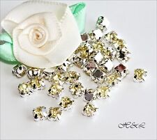 40 Jonquil Pale Yellow silver ss20 Rose Montees Glass Crystal Sew On set 20ss sp