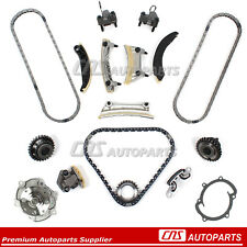 For Buick Cadillac Saab Suzuki 2.8L 3.6L 04-07 DOHC Timing Chain Water Pump Kit