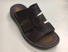Comforthotics® Class Men's Flip Flop Leather Sandal Orthotic 8-19 (LARGE SIZES)