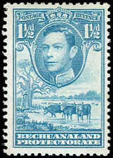 Scott # 126 - 1938 - ' George VI, Cattle and Baobab Tree '
