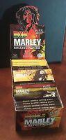 Bob Marley Pure Hemp Rolling papers 1 1/4-1.25 Box Of 50 Packs 32 Leaves Per