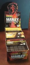Bob Marley Pure Hemp Rolling papers 1 1/4-1.25 Box Of 50 Packs 32 Leaves Per