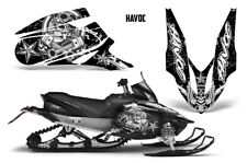 Yamaha APEX XTX Decal Wrap Graphic Kit Part Sled Snowmobile 2006-2011 HAVOC WHTE