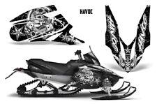 Yamaha APEX XTX Decal Wrap Graphic Kit Part Sled Snowmobile 2006-2011 HAVOC WHTE