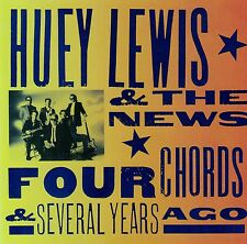 HUEY LEWIS AND THE NEWS - FOUR CHORDS AND SEVERAL YEARS AGO / CD - TOP-ZUSTAND