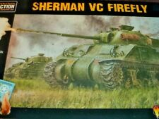 Sherman VC Firefly Tank British Army Bolt Action WWII Warlord Games 1/56 Model