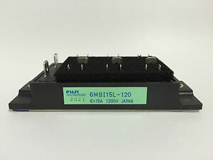 6MBI15L-120 Fuji Electric IGBT Module 6 x 15A 1200V Japan NEW