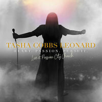Tasha Cobbs Leonard • Heart. Passion. Pursuit. LIVE CD 2018 Motown •• NEW ••