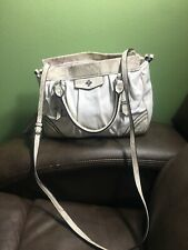 Simply Vera Wang White Faux Leather Purse