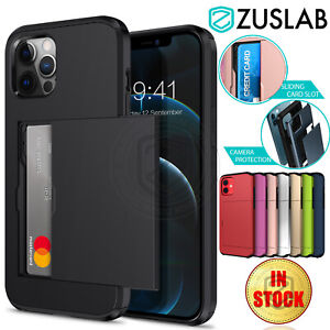 For Apple iPhone 12 11 Pro Max mini XS XR X 8 7 Plus SE Case Wallet Card Cover