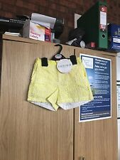 M& S girls lace shorts age 4-5