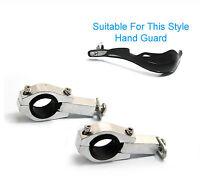 Motorbike Handguard Hand Guard Metal Clamps 28mm Oversize Fat Handlebar
