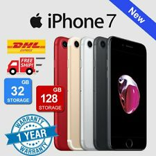 NEW Apple iPhone 7 32GB 128GB Factory Unlocked Smartphone Plus Gift - Various