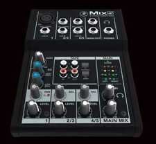 Mackie Mix5 5-Channel Compact Mixer for Live Sound