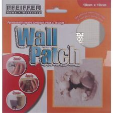 2x Pfeiffer PLASTER REPAIR WALL PATCH Adhesive Fibreglass Mesh- 10cm Or 15cm