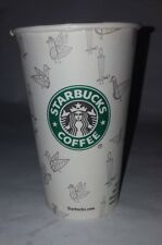Exceptionally RARE 2002 Starbucks OLD LOGO Canada Holiday Paper to go Cup French