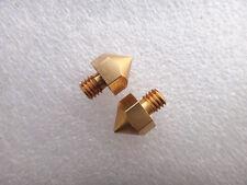 5pcs 3D Printer Parts 0.4mm Nozzle For Ultimaker 3.0mm Filament Extrusion Head