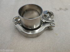 """2"""" DOUBLE PIN SANITARY TRI-CLAMP W/2"""" SANITARY ADAPTER WITH BUTT WELD 1-¾"""" LONG"""