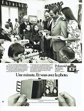 Publicité Advertising 108  1971   appareil photo Polaroid colorpack 80