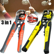 3in1 Automatic Wire Cutter Stripper Crimper Pliers Metal Electric Tool Equipment