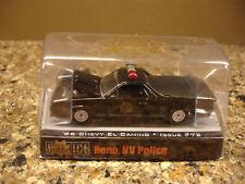 Racing Champions Police USA Reno Nevada Police 1986 El Camino