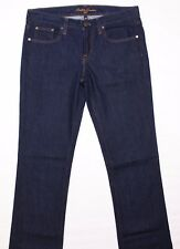 RALPH LAUREN Women's Straight Leg Dark Denim Jeans, Size 28, NEW!!