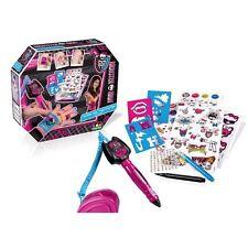 MONSTER High Kids Bambini Creativo BODY TATTOO MAKER ART PEN divertente Kit Set mhc011