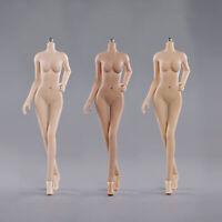 "JIAOU DOLL 1/6 Female Seamless M bust Steel 12"" Girl Style Flexible Figure Body"
