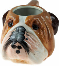 British Bulldog Head Ceramic Dog Mug 18cm