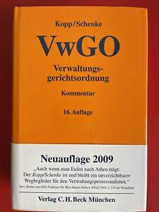 Kopp / Schenke– Kommentar zur Verwaltungsgerichtsordnung VwGO– 16. Aufl.– TOP