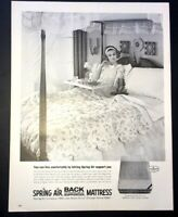 Life Magazine Ad SPRING AIR MATTRESS 1965 Ad