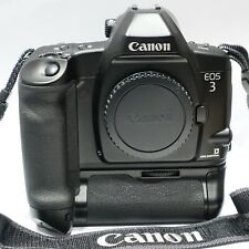 Canon EOS 3 + PB-E2 Power Drive Booster AF 35mm SLR Camera body, Exc+, Pro Spec